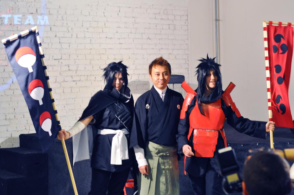 Cosplay  Madara Uchiha Izuna Uchiha 9 by NakagoinKuto