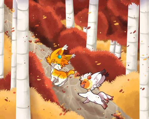 [BERRY BAZAAR] Autumnal Chase