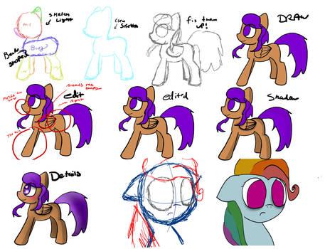 How to draw ponies (sorta)