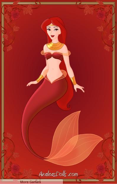 Red Mermaid by Jayko-15