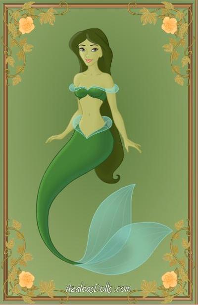 Green Mermaid by Jayko-15