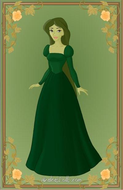 Green Princess by Jayko-15