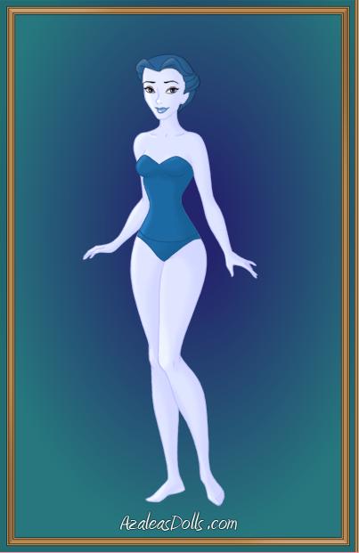 Blue Swimsuit Girl by Jayko-15