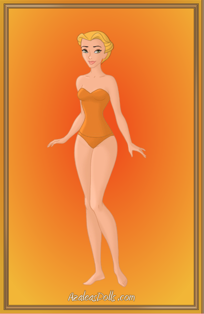 Yellow Swimsuit Girl by Jayko-15