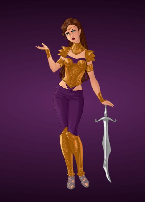 Warrior Princess Esther by Jayko-15