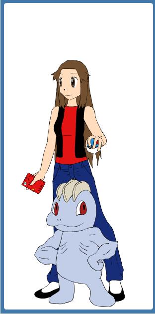Pokemon Trainer Kyoko by Jayko-15