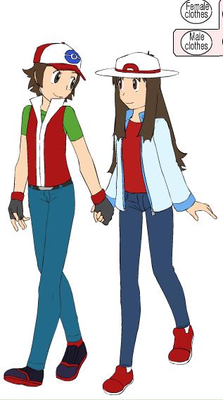 Jayko and Bianca as Pokemon Trainers by Jayko-15