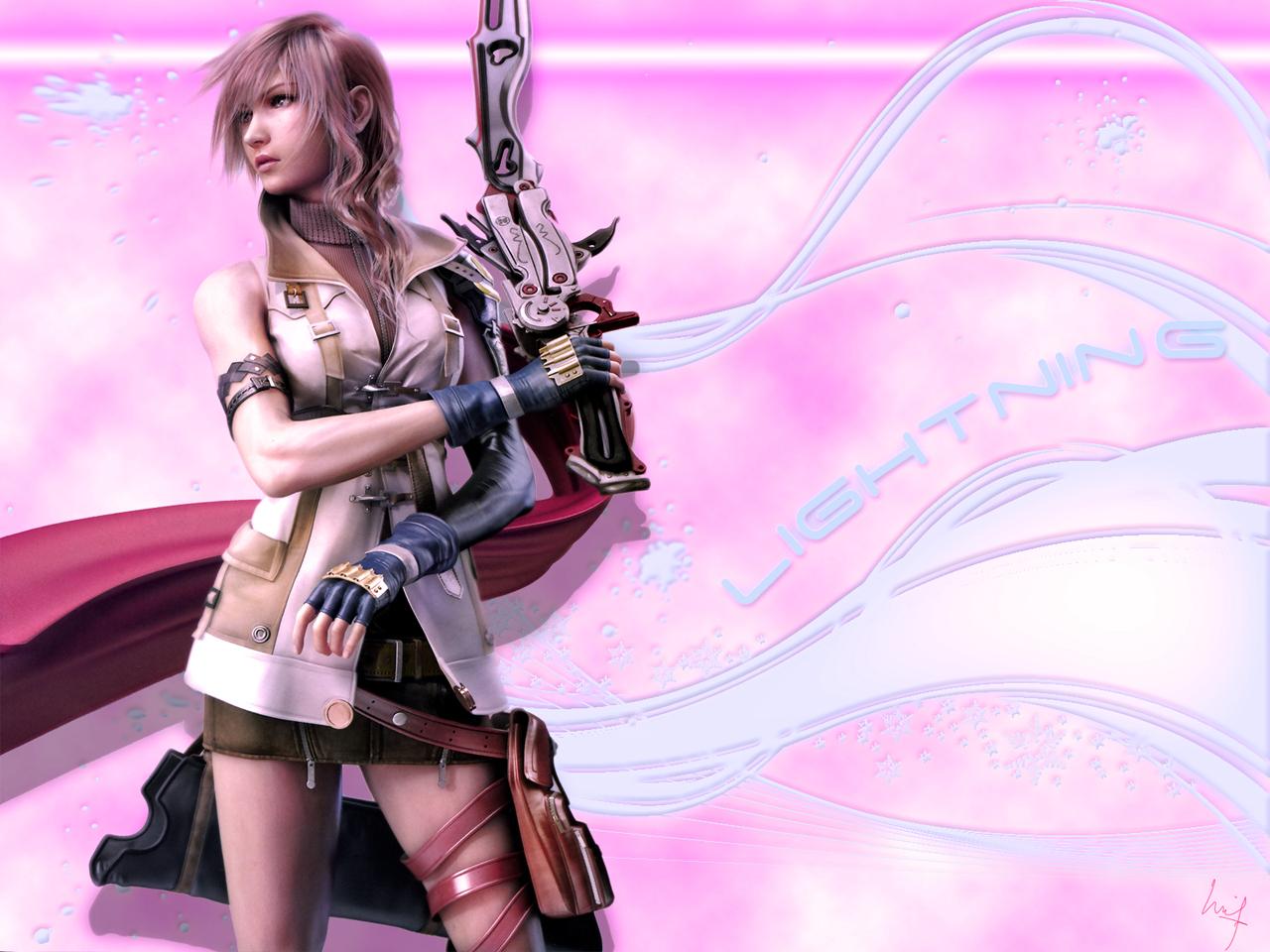 wallpapers que têm vossos desktops Final_Fantasy_XIII_Lightning_2_by_Grimmjow_Akutabi