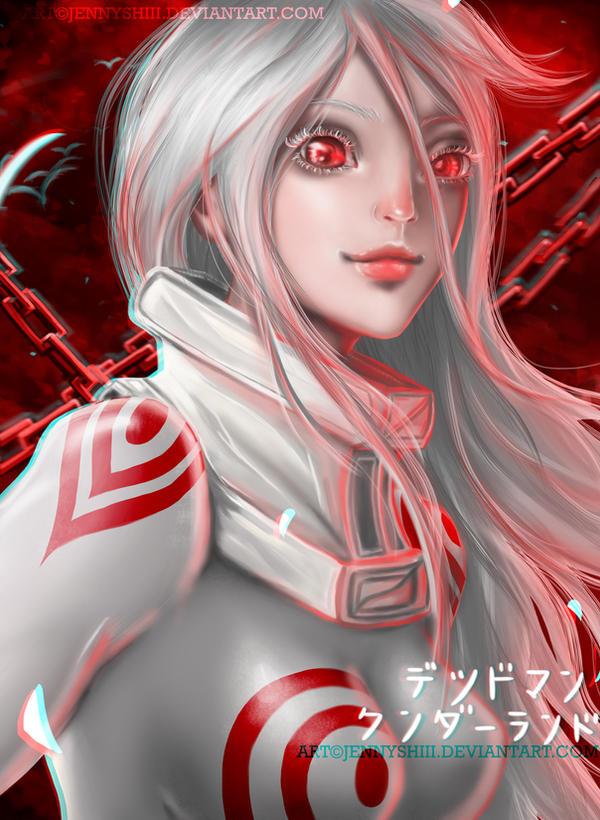 Shiro from Deadman Wonderland by jennyshiii
