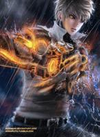 One Punch Man - Genos by jennyshiii