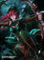 Archer by jennyshiii
