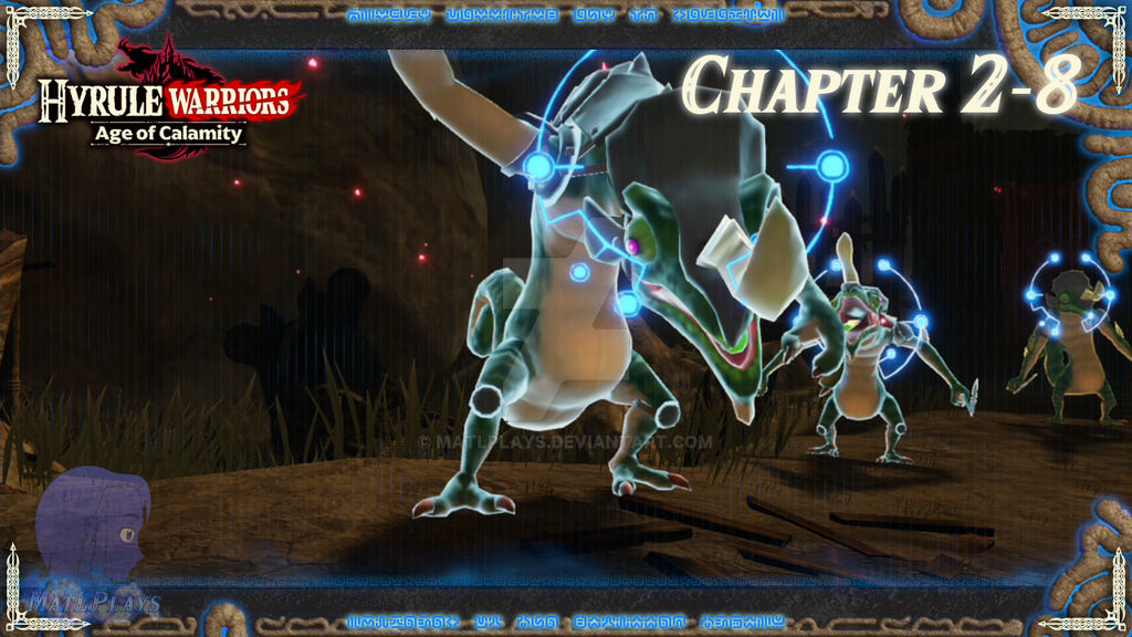 Hyrule Warriors Age Of Calamity Ch 2 8 By Matlplays On Deviantart