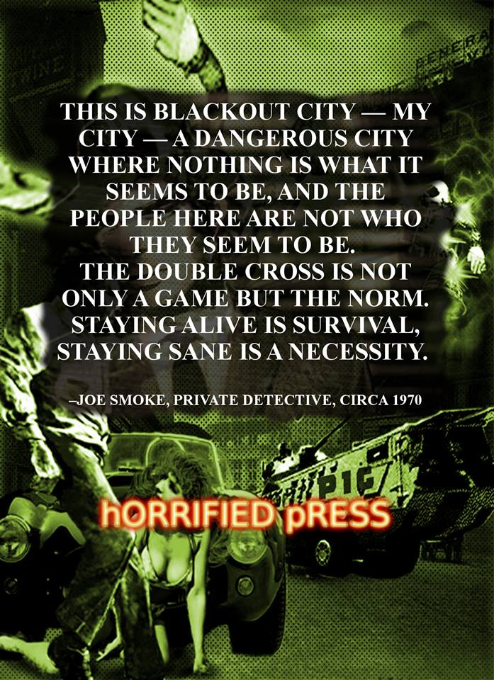 back cover Blackout city by Animalmother16