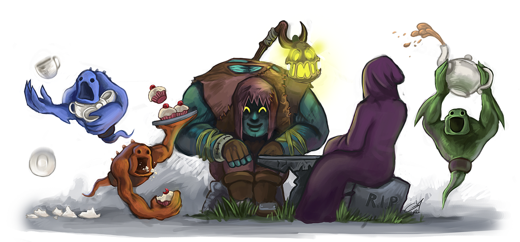Yorick - Meet Your Summoner by fivetinsoldiers