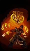 Spirit Guard Udyr (Tiger) by fivetinsoldiers