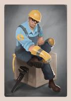 BLU Engineer by fivetinsoldiers