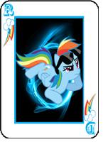 RainbowPlaingCardAvi by Zhortac