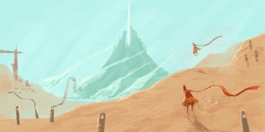 Journey fan art 1 by parkurtommo