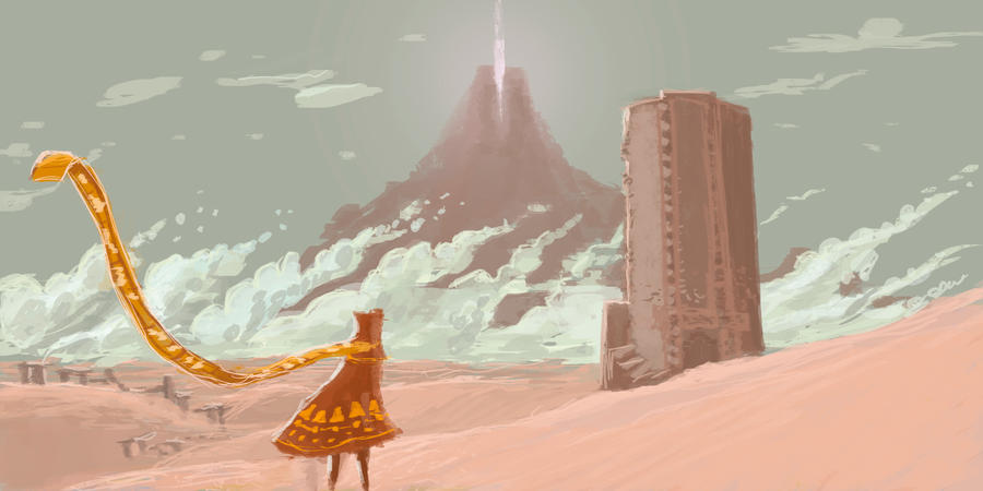 Journey fan art 2 by parkurtommo