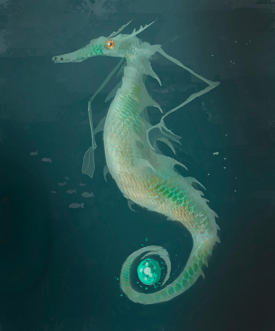 Merchant Seahorse by parkurtommo
