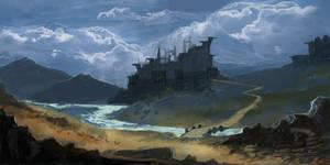 Generic Fantasy Landscape by parkurtommo
