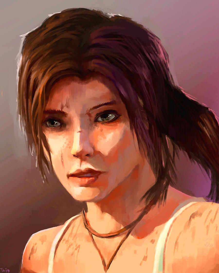 Lara Croft (2) by parkurtommo