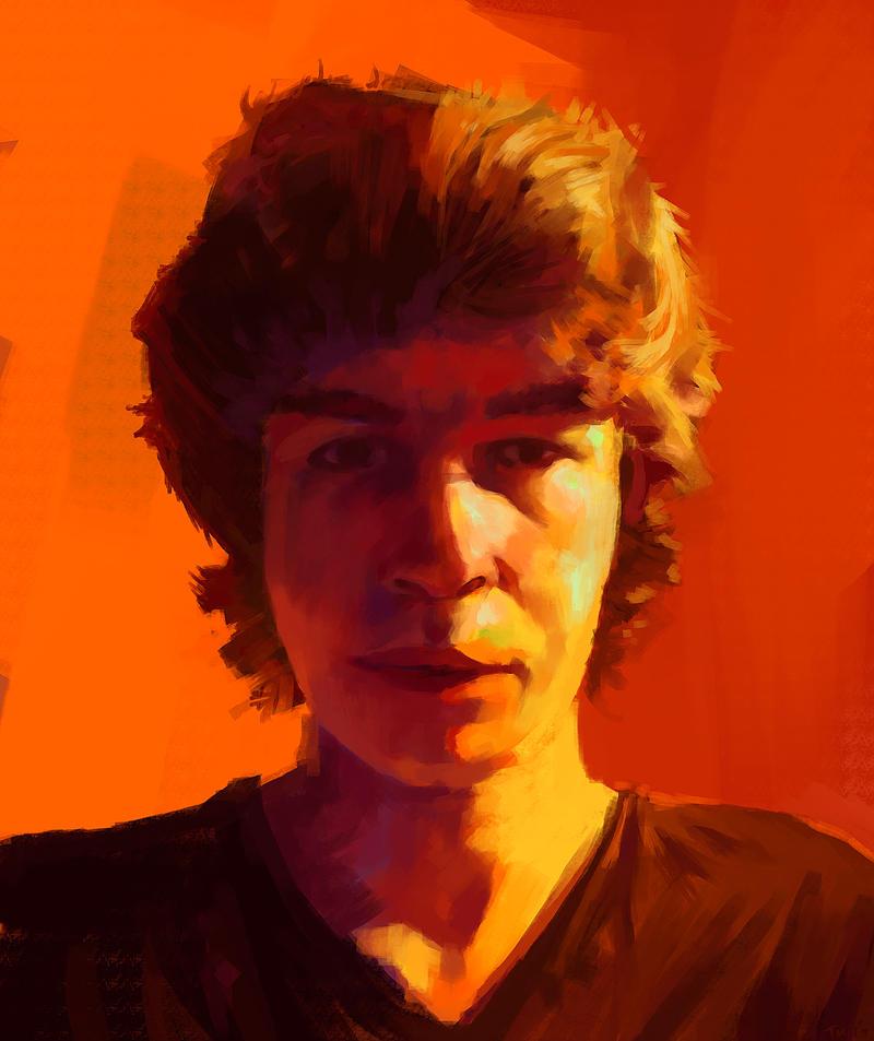 Self Portrait 2014 by parkurtommo