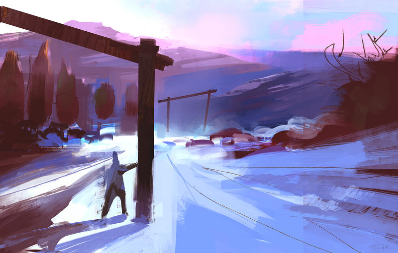 Guy in Snow place by parkurtommo