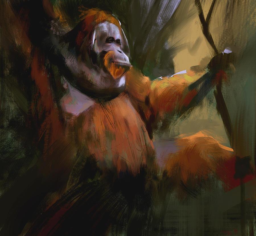 Orangutan by parkurtommo