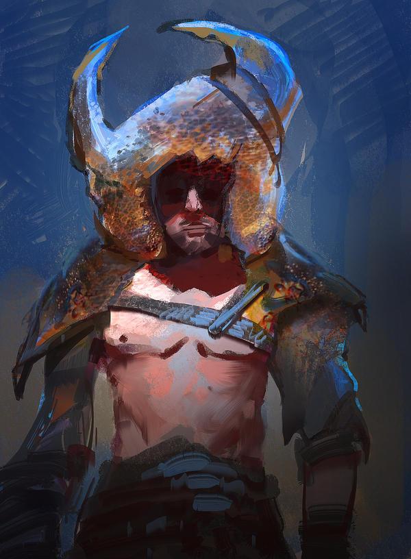 Crab Gladiator by parkurtommo