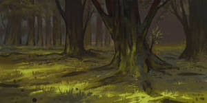 Forest Background 1 by parkurtommo