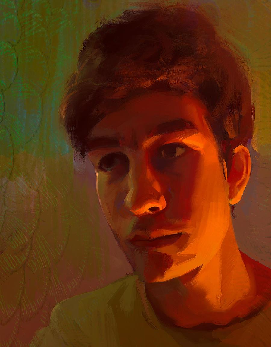 Self Portrait 2015 by parkurtommo