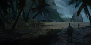 Jurassic beach by parkurtommo