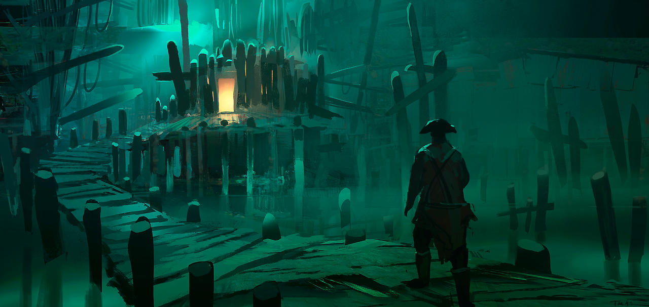 Pirate Cove By Parkurtommo On Deviantart