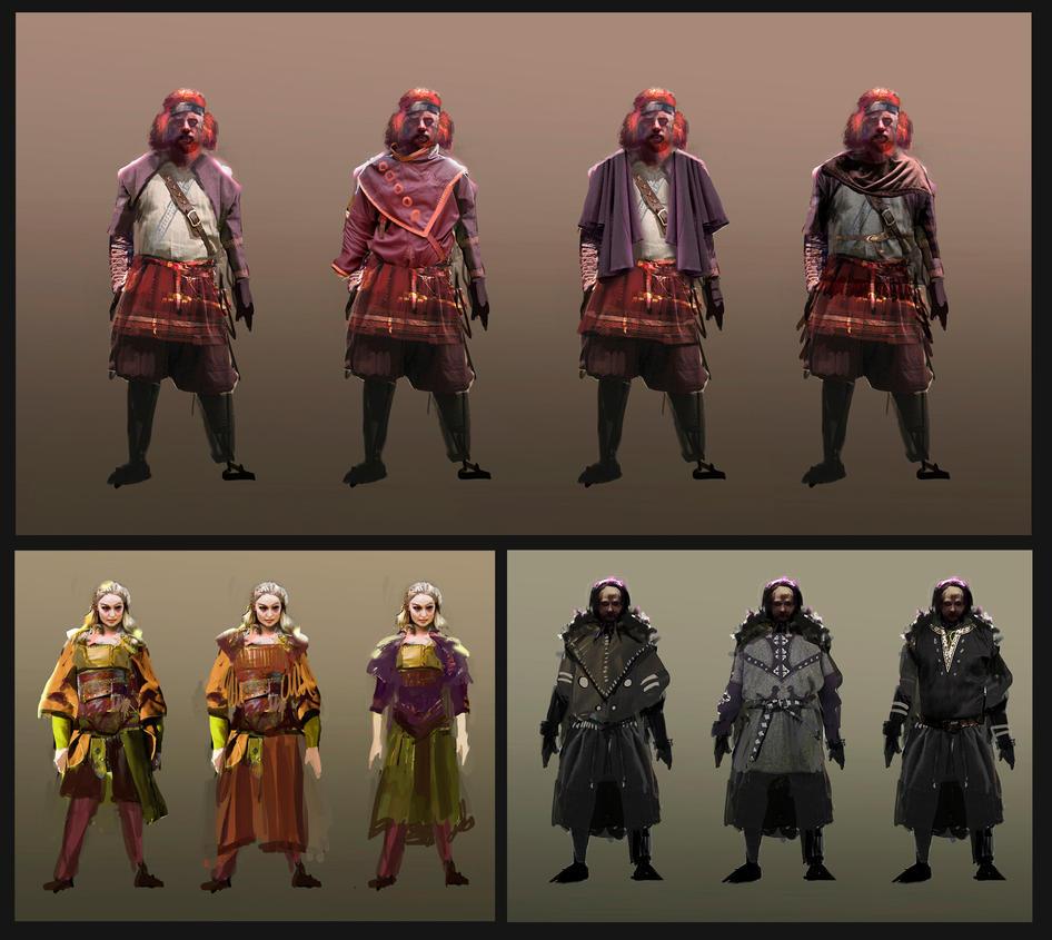 Dyralendyr - Character Conceptualization by parkurtommo