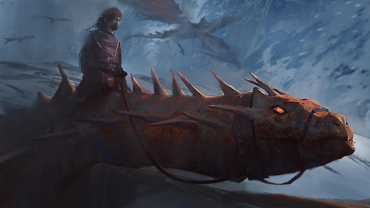 Dyralendyr: The Drekin by parkurtommo