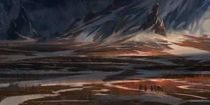 Dyralendyr - Snowy Valley