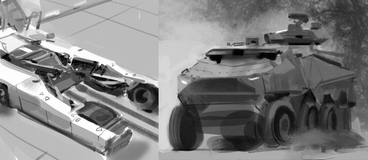 Hard Surface Studies 1 by parkurtommo