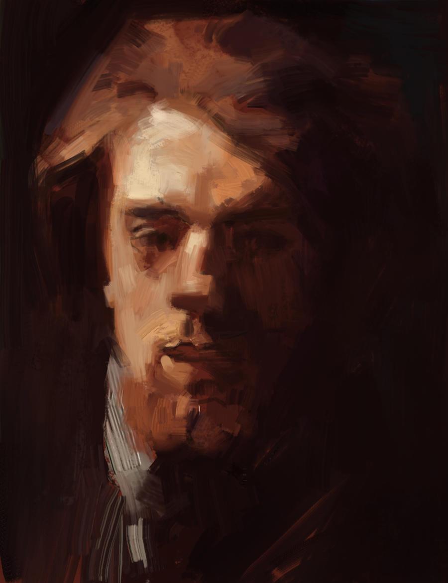 Henri Fantin-Latour Self Portrait Master Study