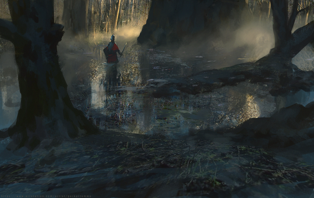 Swamp by parkurtommo