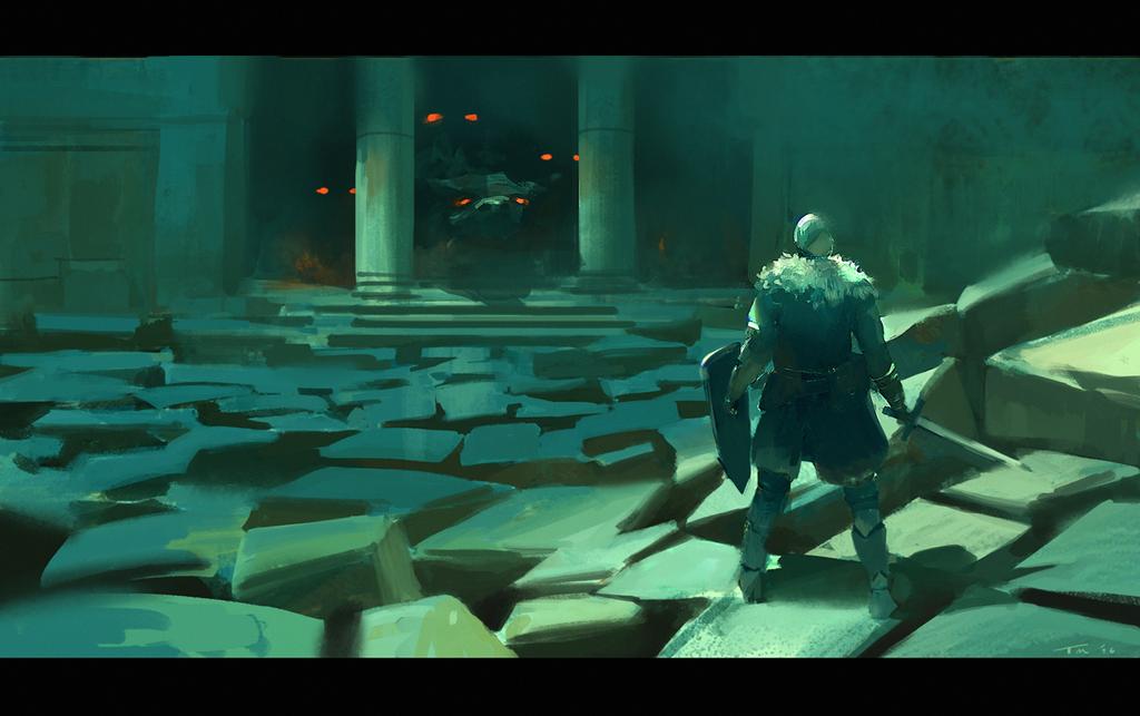 Dark Souls frame by parkurtommo