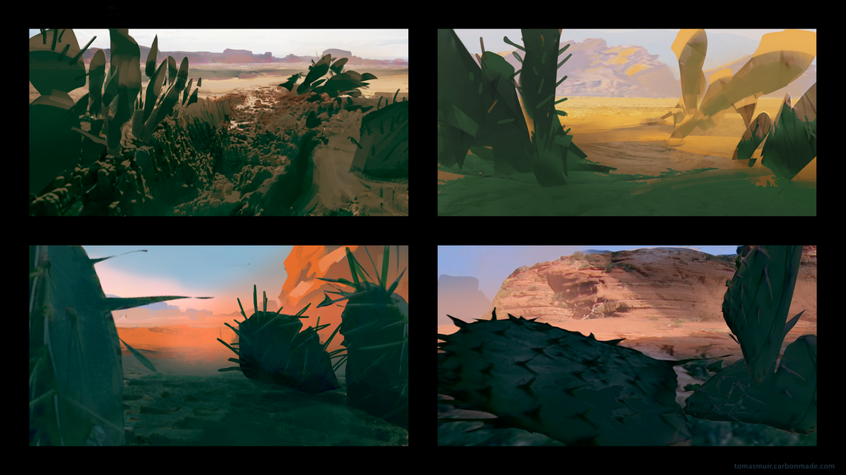 Wind - Desert Thumbnails by parkurtommo