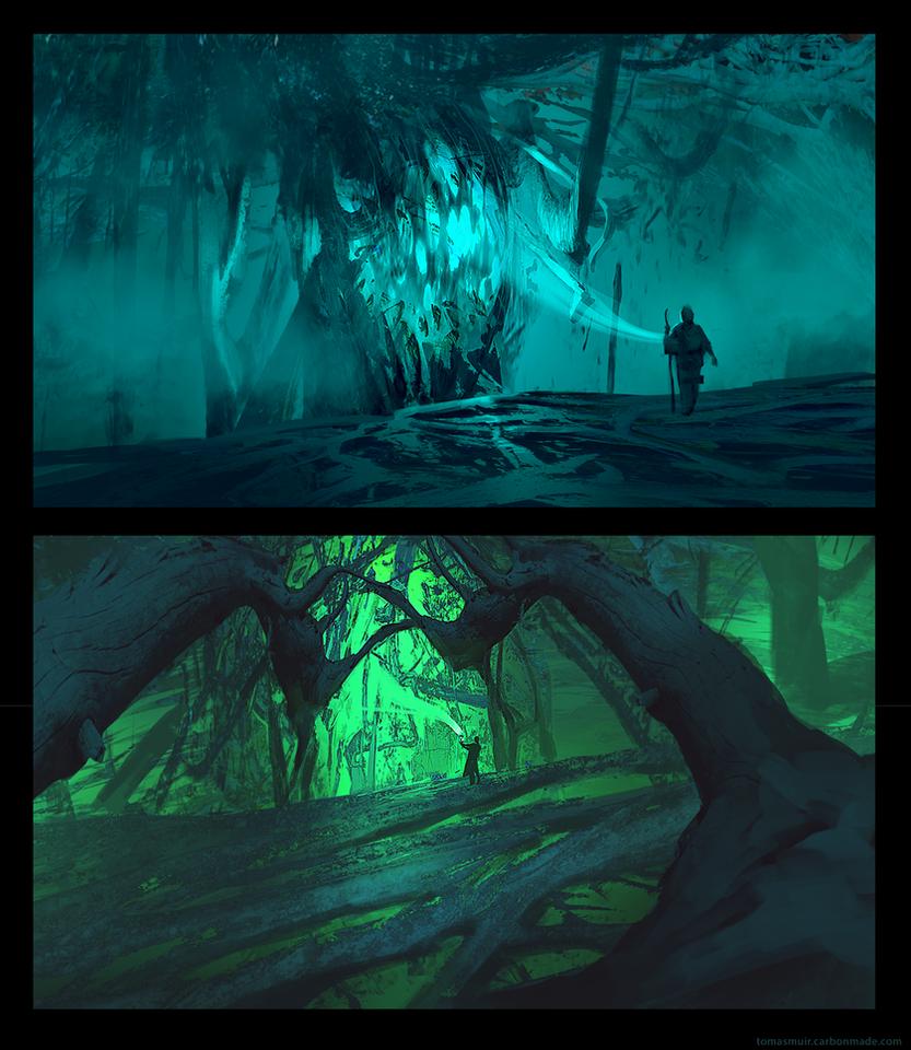 Wind - Tree Hearts by parkurtommo