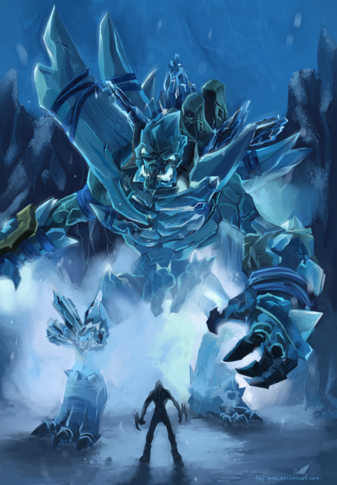 Darksiders II - IceGiant by Kasimova