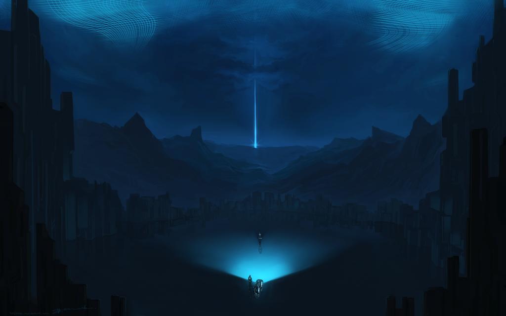 Otherworldly Portal by Kasimova