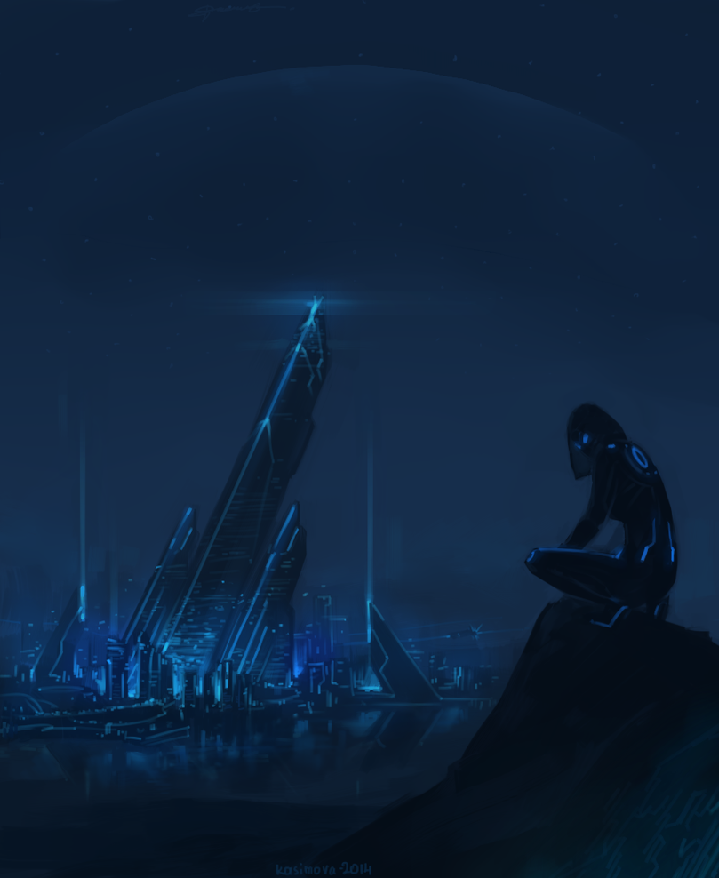 Lights of darkness by Kasimova