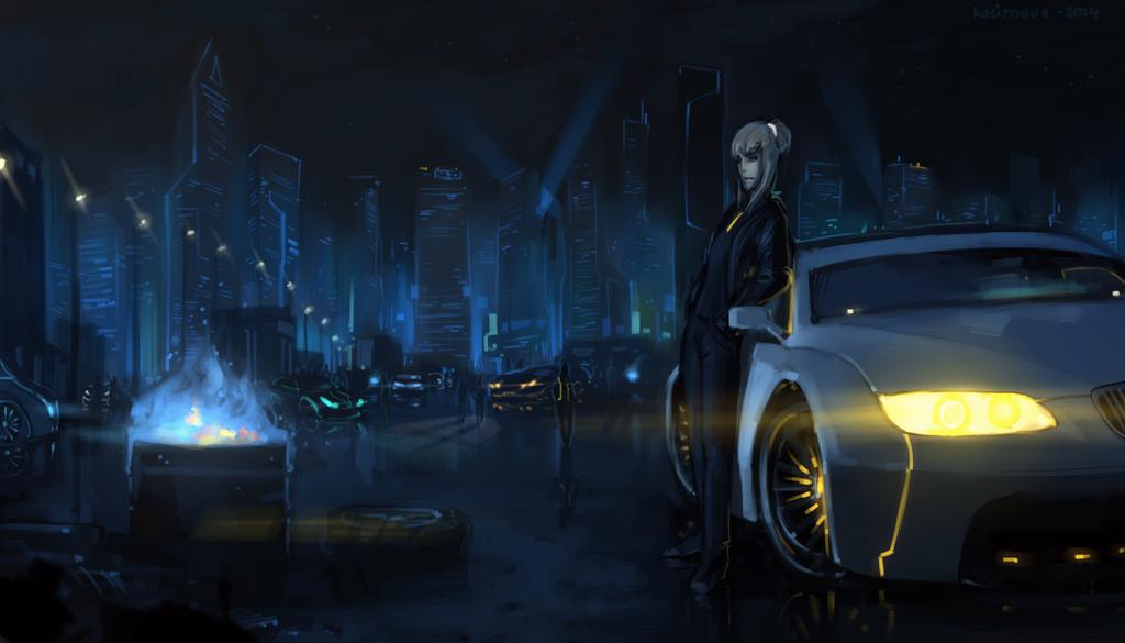 Fast Lane by Kasimova
