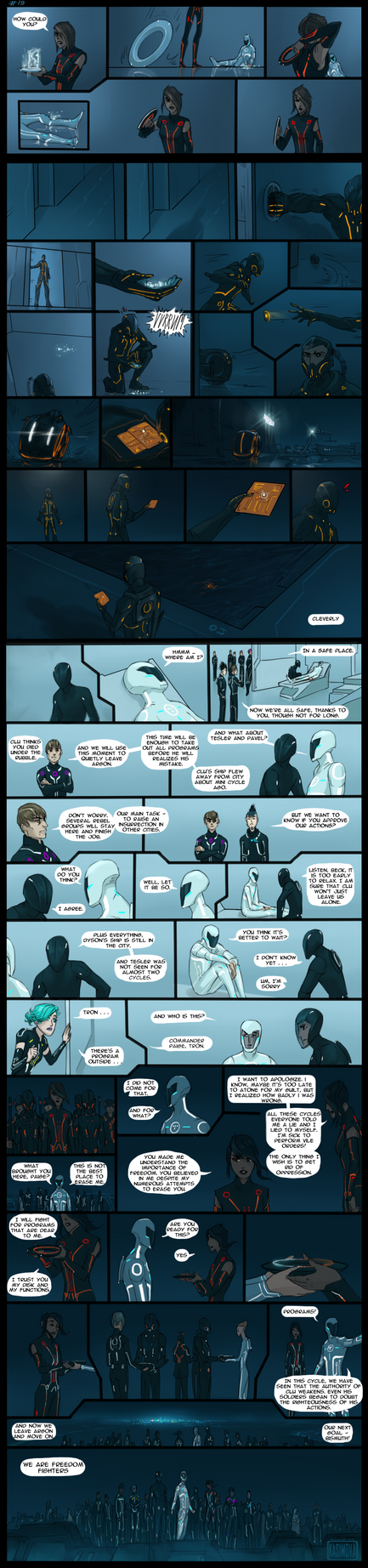 Tron: Uprising II Season_page#19 by Kasimova