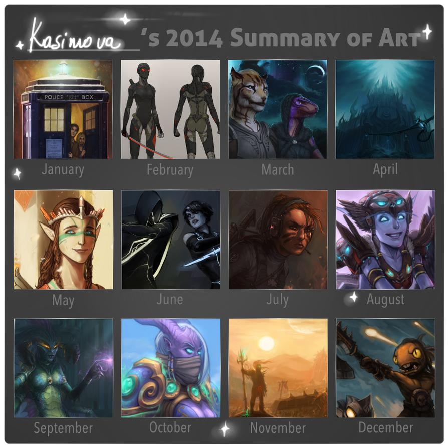 Summary of Art 2014 by Kasimova