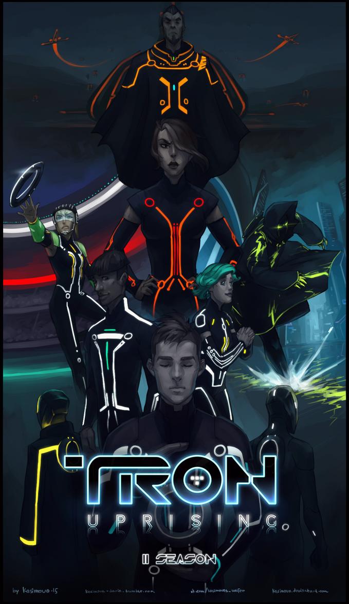 Tron: Uprising Second Season cover by Kasimova